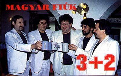 3+2 együttes Magyar fiúk